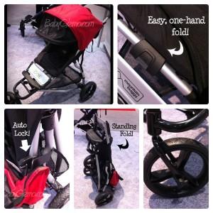 mountain buggy fold